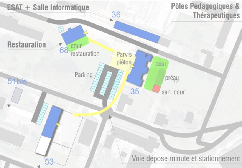 Etude de programmation pour la Restructuration du Centre François Truffaut à l'IDEFHI – Canteleu