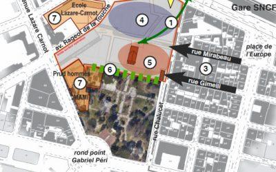 Programme des équipements et renouvellement urbain du secteur Chalucet à Toulon