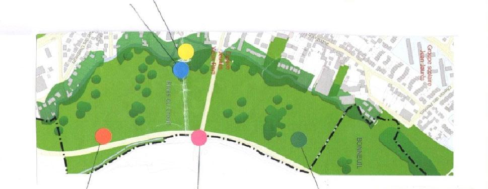 Programmation pour le réaménagement des espaces publics de la Coulée verte et du Fort de Stains