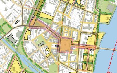 Etude urbaine globale pour la ville de Huningue