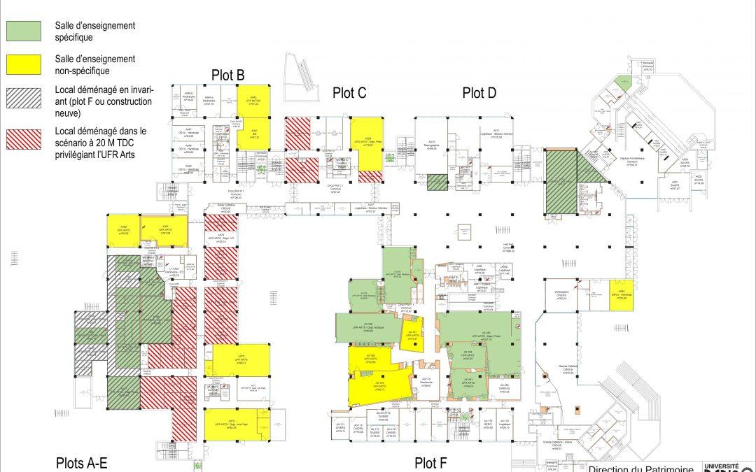Mission de programmation pour la création d'un cœur de campus Paris 8 à Saint Denis